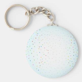 Porte-clés Chute de confettis