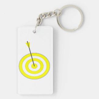 Porte-clés Cible avec la flèche