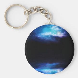Porte-clés Ciel nocturne et rivière