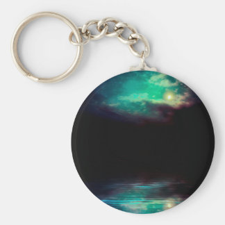 Porte-clés Ciel nocturne et rivière 2