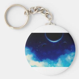 Porte-clés Ciel nocturne étoilé