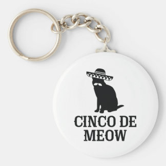 Porte-clés Cinco De Meow