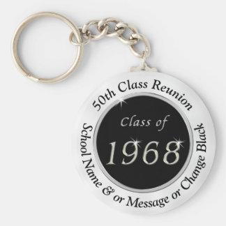 Porte-clés Classe de 1968, bon marché cinquantième porte -