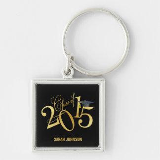 Porte-clés Classe géniale faite sur commande de noir et d'or