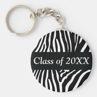 Porte-clés Classe personnalisée par zèbre de porte - clé