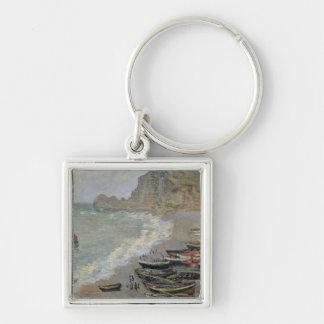 Porte-clés Claude Monet   Etretat, plage et d'Amont de Porte