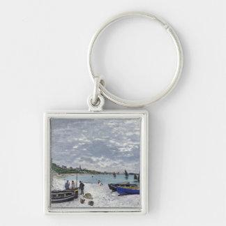 Porte-clés Claude Monet | la plage chez Sainte-Adresse
