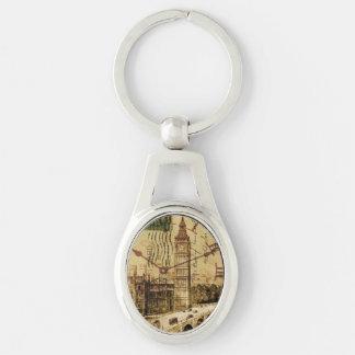 Porte-clés Clocktower grand Ben de pont de tour de Londres