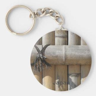 Porte-clés Clôture japonaise de bambou