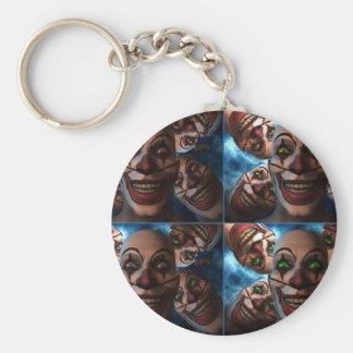 Porte-clés Clowns mauvais