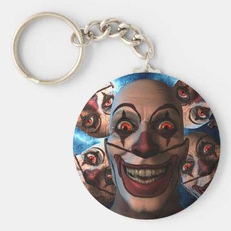 Porte-clés Clowns mauvais avec les yeux de enflement