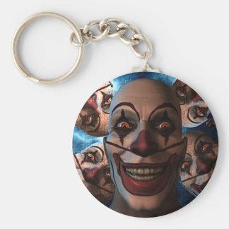 Porte-clés Clowns mauvais - des bonbons ou un sort !