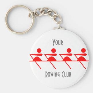 Porte-clés Club d'aviron d'amusement