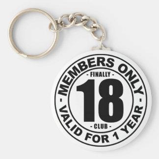 Porte-clés Club enfin 18