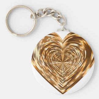 Porte-clés Coeur d'anniversaire
