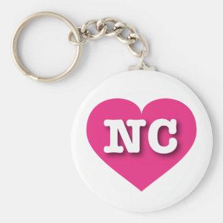 Porte-clés Coeur de roses indien de la Caroline du Nord -