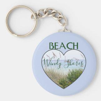 Porte-clés Coeur Destin la Floride de Chambre de plage