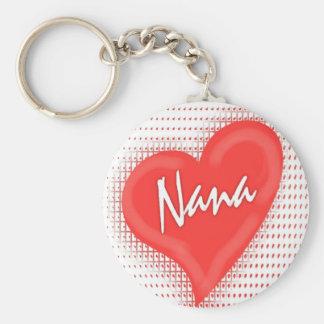 Porte-clés Coeur du ` s de Nana