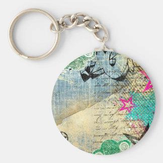 Porte-clés Conception chic abstraite