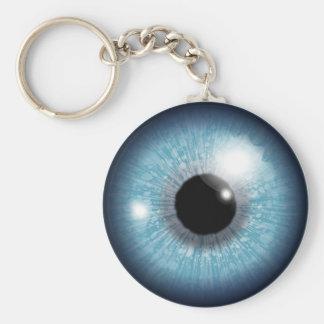Porte-clés Conception de globe oculaire