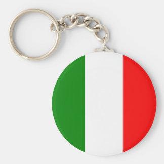 Porte-clés Conception de Tricolore de drapeau de l'Italie
