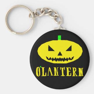 Porte-clés Conception d'icône de porte - clé d'O'Lantern !