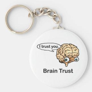 Porte-clés Confiance de cerveau