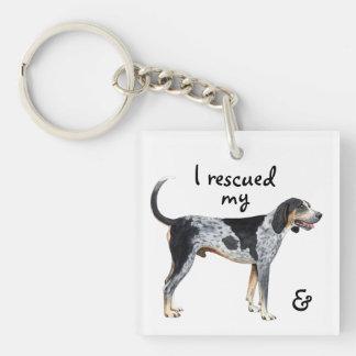 Porte-clés Coonhound de Bluetick de délivrance