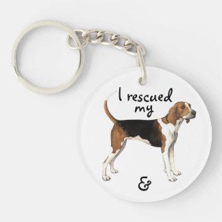 Porte-clés Coonhound de marcheur de Treeing de délivrance