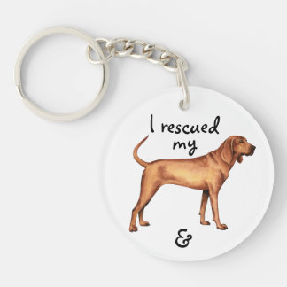 Porte-clés Coonhound de Redbone de délivrance