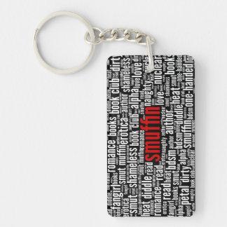 Porte-clés Copie sans scrupule de nuage de mot de Smuffin