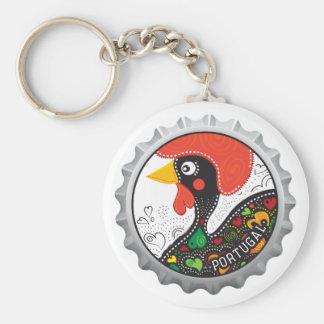 Porte-clés Coq célèbre du Portugal nr02