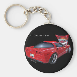Porte-clés Corvette avec l'aerographe