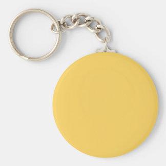 Porte-clés Couleur calme de jaune de la moutarde Y07