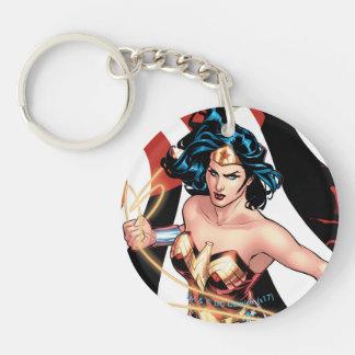 Porte-clés Couverture comique #12 de femme de merveille