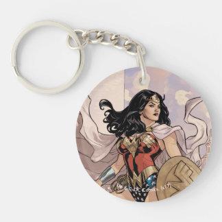 Porte-clés Couverture comique #13 de femme de merveille