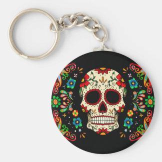 Porte-clés Crâne de fiesta