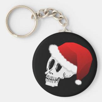 Porte-clés Crâne du père noël de Noël