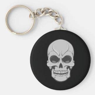 Porte-clés Crâne fâché : Illustration de vecteur : Porte -
