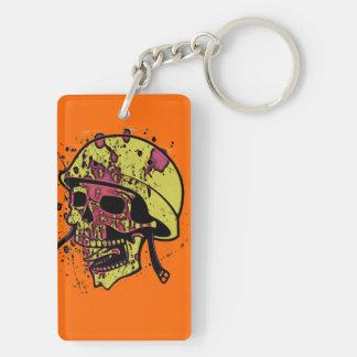 Porte-clés Crâne menaçant