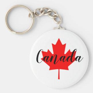 Porte-clés Créez votre propre feuille d'érable rouge