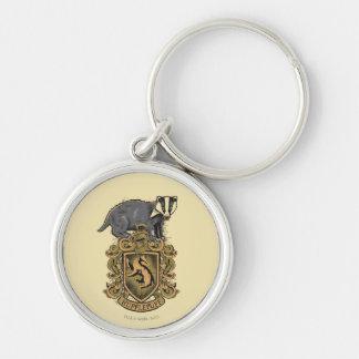 Porte-clés Crête de Harry Potter   Hufflepuff avec le