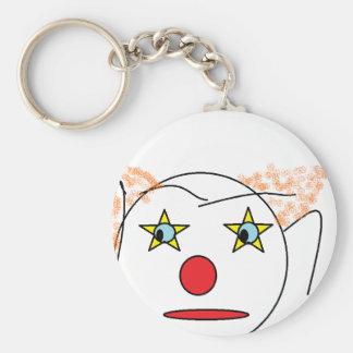 Porte-clés Croquis de clown