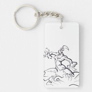 Porte-clés Croquis de danseur de flamenco