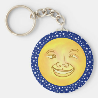 Porte-clés Cru drôle d'espace extra-atmosphérique d'homme de