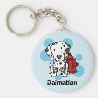 Porte-clés Dalmate de Kawaii et porte - clé de bouche