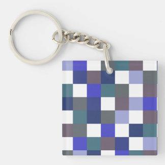 Porte-clés Dans les bleus