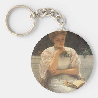 Porte-clés Dans Orangerie par Charles Edouard Perugini