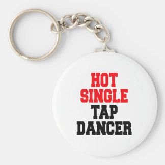 Porte-clés Danseur de claquettes simple chaud