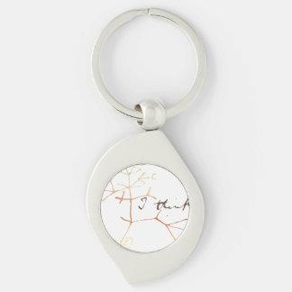 Porte-clés Darwin, je pense l'arbre à la vie